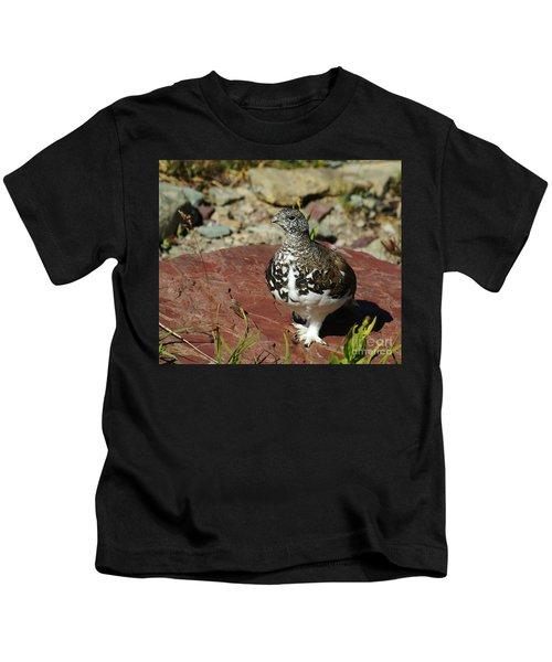 White-tailed Ptarmigan Kids T-Shirt
