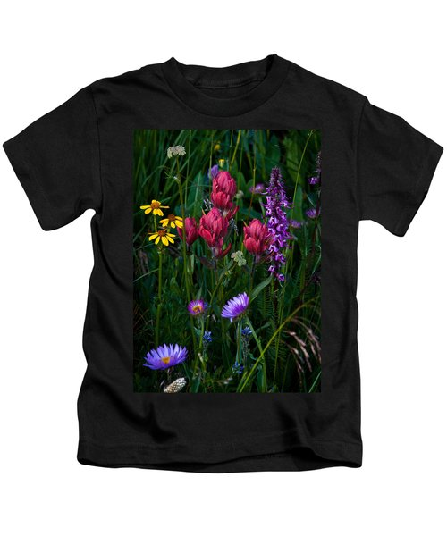 Wildflowers A Bloomin Kids T-Shirt