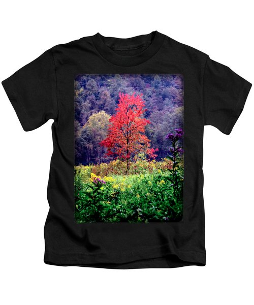 Wildwood Flowers Kids T-Shirt
