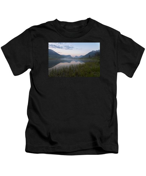 Wind River Morning Kids T-Shirt
