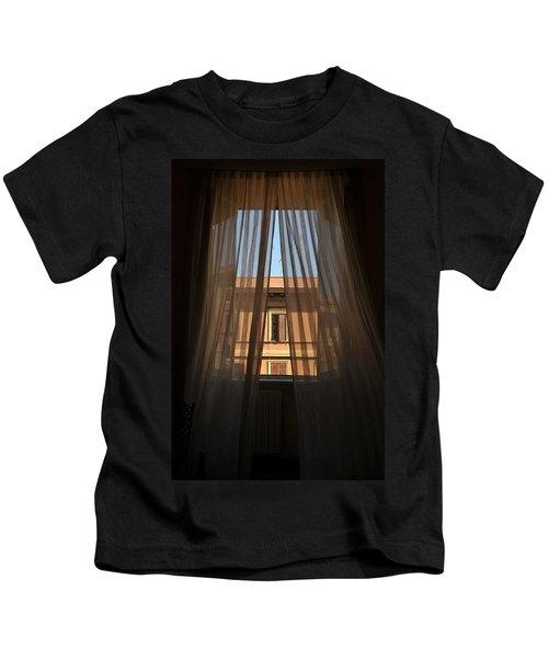 Window On Rome Kids T-Shirt