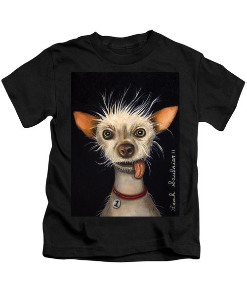 Winner Of The Ugly Dog Contest 2011 Kids T-Shirt