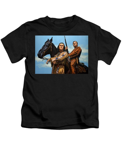 Winnetou And Old Shatterhand Kids T-Shirt