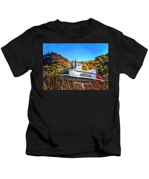 Winona Steamboat Sign Kids T-Shirt