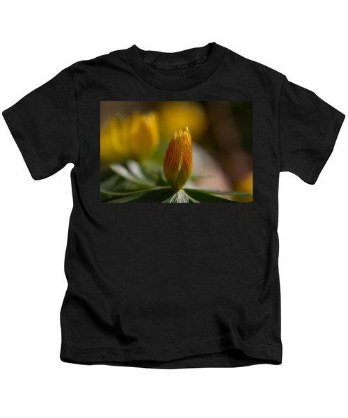 Winter Aconite Kids T-Shirt