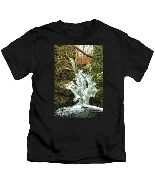 Winter Falls Kids T-Shirt