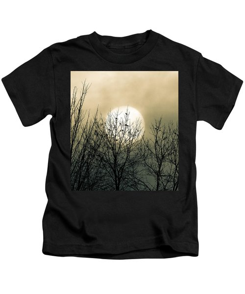 Winter Into Spring Kids T-Shirt