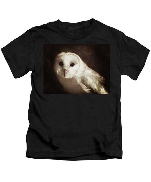 Wisdom Of An Owl Kids T-Shirt