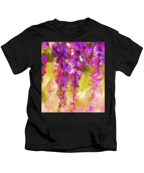 Wisteria Dreams Kids T-Shirt