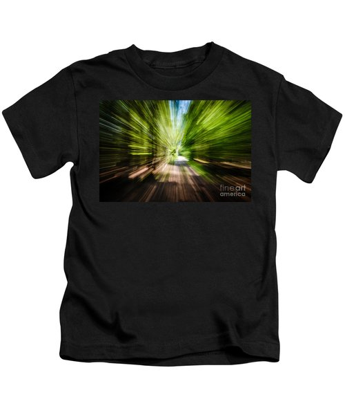 Wooded Spin Kids T-Shirt