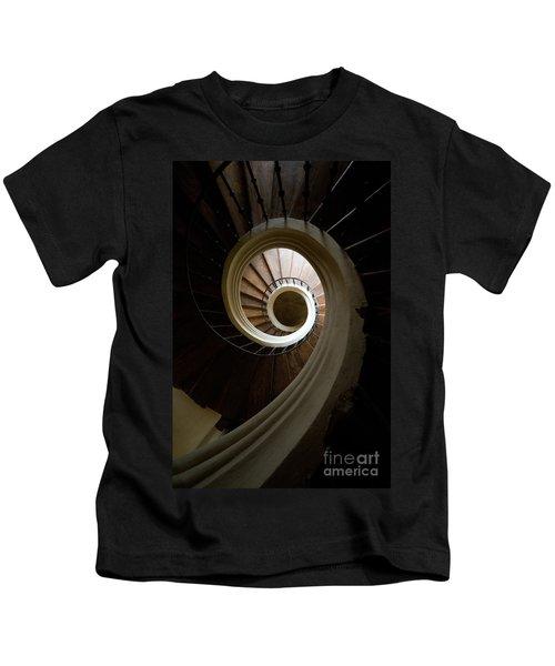 Wooden Spiral Kids T-Shirt
