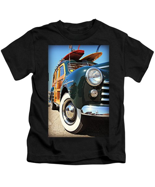 Woodie On The Wharf Kids T-Shirt