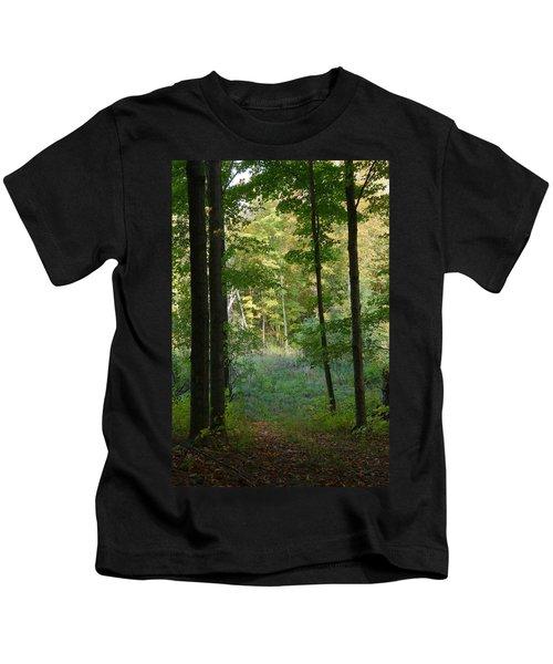 Woodland Path Kids T-Shirt