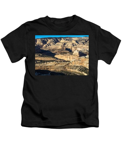 Yampa River Canyon In Dinosaur National Monument Kids T-Shirt