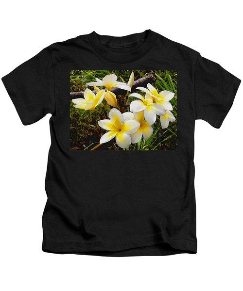 Yellow Flowers 1 Kids T-Shirt
