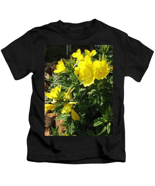 Yellow Primroses Kids T-Shirt