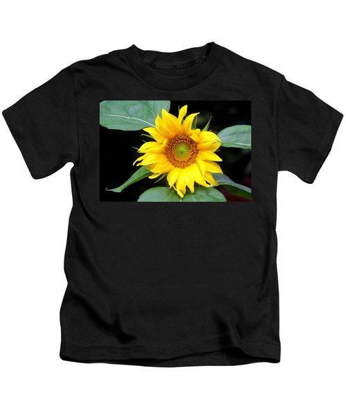 Yellow Sunflower Kids T-Shirt