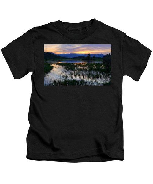 Yellowstone Sunrise Kids T-Shirt