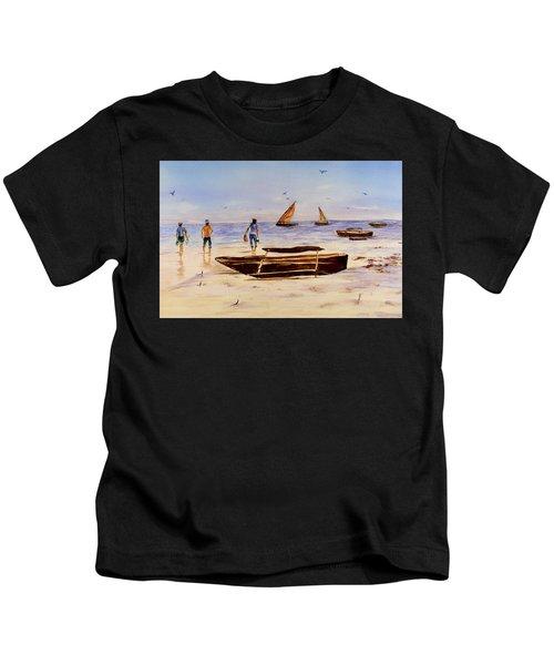 Zanzibar Forzani Beach Kids T-Shirt
