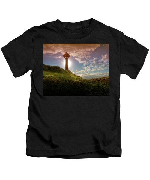 Celtic Cross Kids T-Shirt
