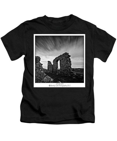 Llanddwyn Island Ruins Kids T-Shirt