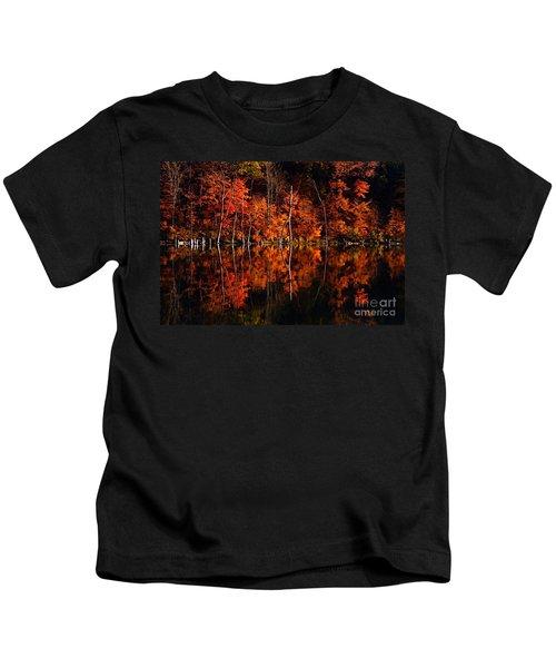 Autumn Reflections Kids T-Shirt