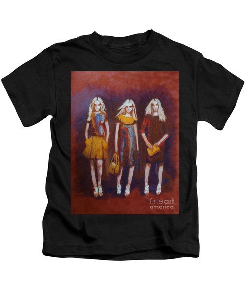 On The Catwalk Kids T-Shirt