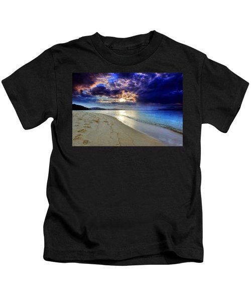 Port Stephens Sunset Kids T-Shirt