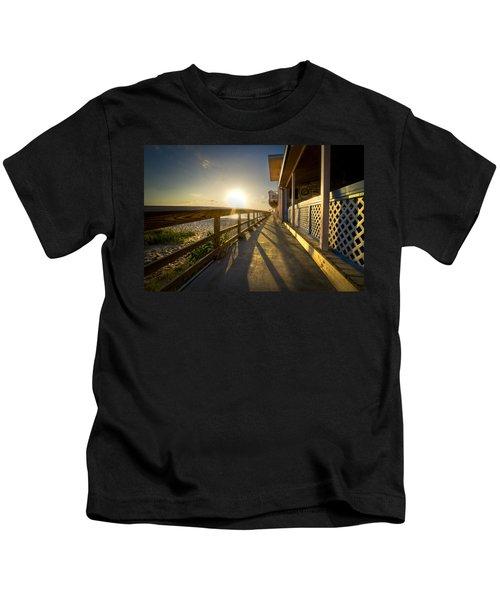 The Old Fishing Pier Kids T-Shirt