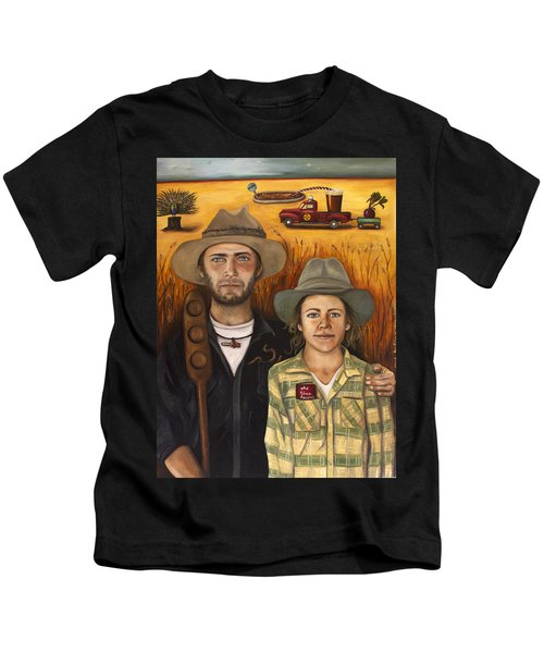 Zeb And Ellen Kids T-Shirt