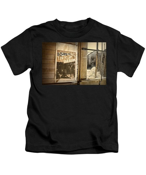 10 Nights In A Bar Room Kids T-Shirt