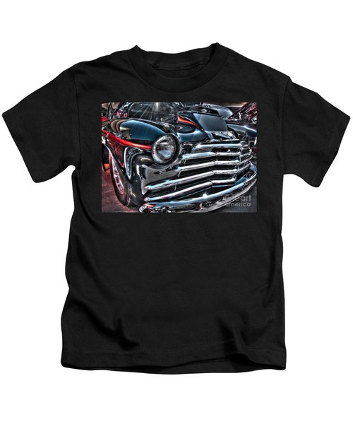 48 Chevy Convertible 2 Kids T-Shirt