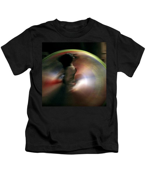 A Female Whirling Dervish In Capadocia Kids T-Shirt