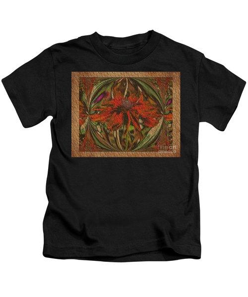 Abstract Flower Kids T-Shirt