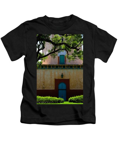 Alhambra Water Tower Doors Kids T-Shirt
