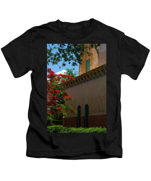 Alhambra Water Tower Windows And Door Kids T-Shirt