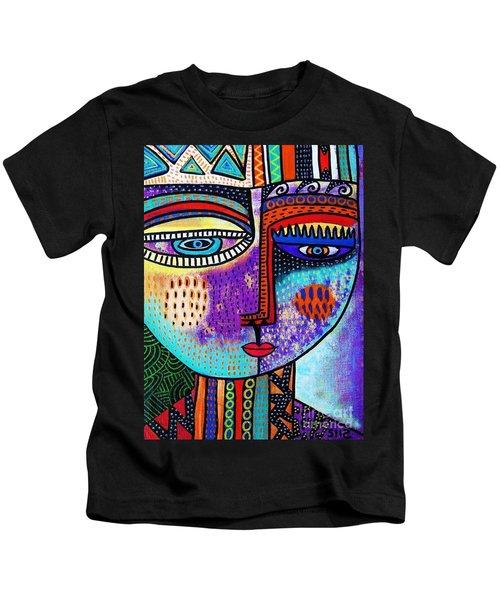 Amethyst Gem Goddess Kids T-Shirt