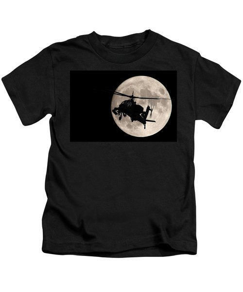 Apache In The Moonlight Kids T-Shirt