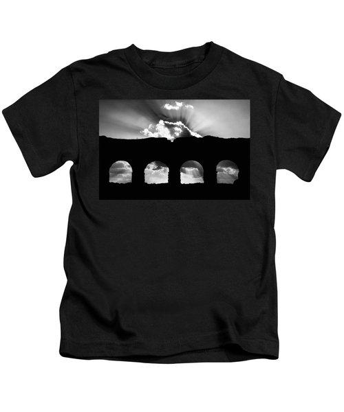 Aqua Claudia Aqueduct Kids T-Shirt