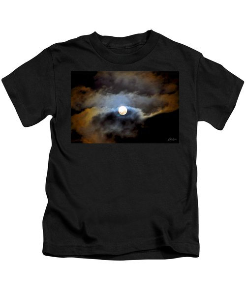 Aquarius Full Moon Kids T-Shirt