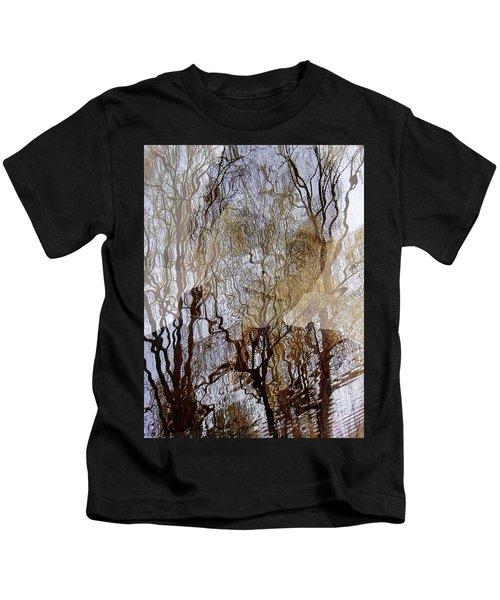 Asphalt - Portrait Of A Boy Kids T-Shirt
