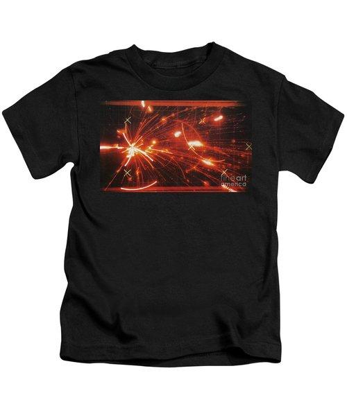 Atom Bombardment Kids T-Shirt