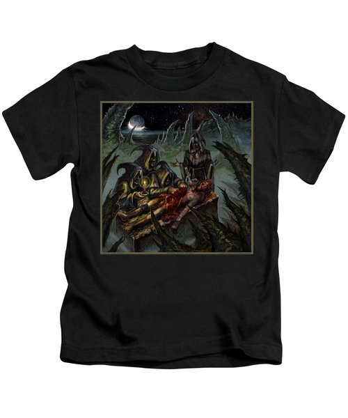 Autopsy Of The Damned  Kids T-Shirt