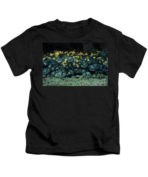 Autumn Flowers Kids T-Shirt