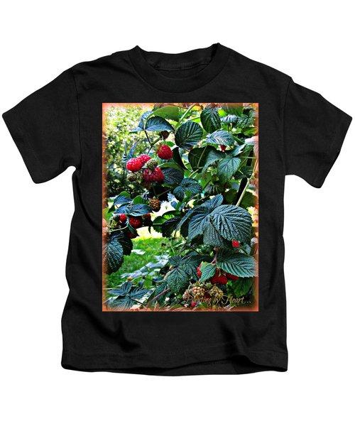 Backyard Berries Kids T-Shirt