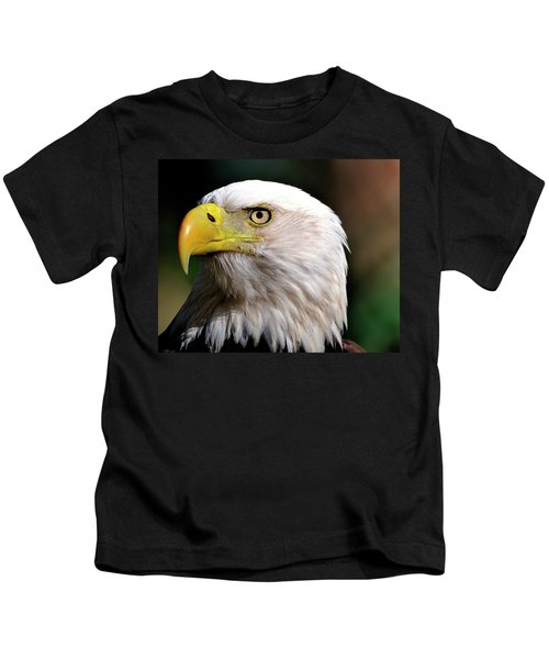 Bald Eagle Close Up Kids T-Shirt