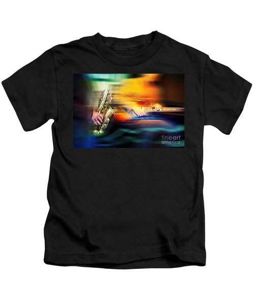 Basic Jazz Instruments Kids T-Shirt