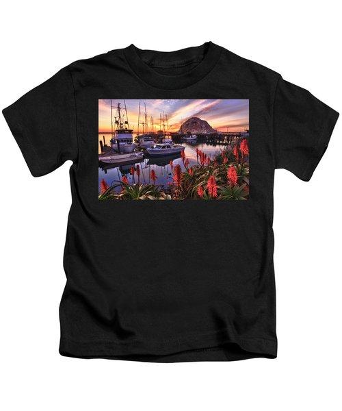 Beautiful Morro Bay Kids T-Shirt