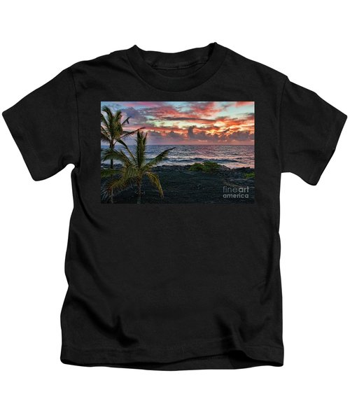 Big Island Sunrise Kids T-Shirt