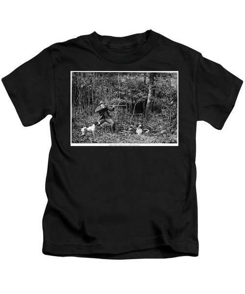 Bird Shooting, 1886 Kids T-Shirt